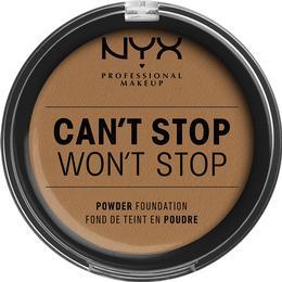 NYX Can't Stop Won't Stop Powder Foundation Warm Honey