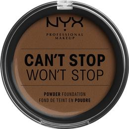 NYX Can't Stop Won't Stop Powder Foundation Mocha