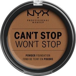 NYX Can't Stop Won't Stop Powder Foundation Warm Caramel