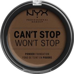 NYX Can't Stop Won't Stop Powder Foundation Deep Cool