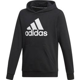 Adidas Boy's Must Haves Badge of Sport Pullover - Black/White (DV0821)