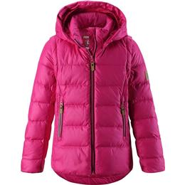Reima Kid's 2-in-1 Down Jacket Minna - Raspberry Pink (531346-4650)