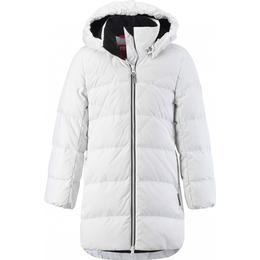 Reima Juniors' Ahde Down Jacket - White (531424-0100)