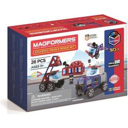 Magformers Amazing Police & Rescue Set 26pcs