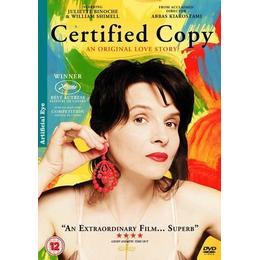 Certified copy (DVD)