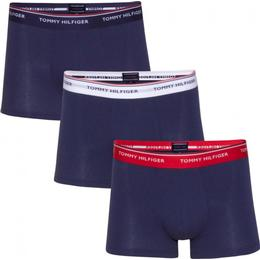 Tommy Hilfiger Stretch Cotton Trunks 3-pack - Multi/Peacoat
