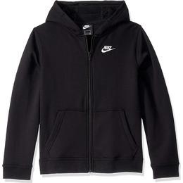 Nike Sportswear Club Hoodie - Black/Black/White (BV3699-010)