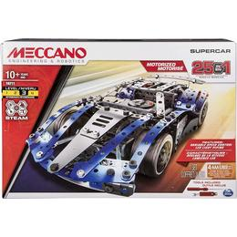 Spin Master Meccano 25 in 1 Model Set Super Car