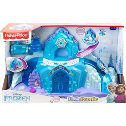 Fisher Price Disney Frozen Little People Elsa's Ice Palace