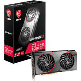 MSI Radeon RX 5500 XT Gaming X HDMI 3xDP 8GB