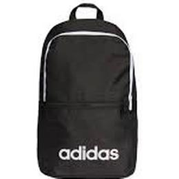 Adidas Linear Classic Daily Backpack - Black/Black/White