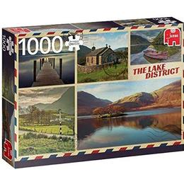Jumbo Premium Collection Greetings from the Lake District 1000 Pieces