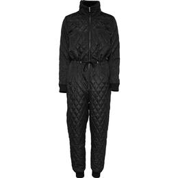 Only Quilted One Piece Jumpsuit - Black