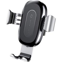 Baseus Air Duct Gravity Car Holder with Qi Wireless Charger