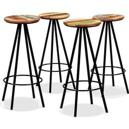 vidaXL 245446 4-pack Bar Stool