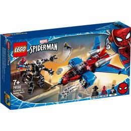 Lego Marvel Avengers Spiderjet vs Venom Mech 76150