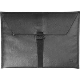 """Douchebags The Proper Laptop Sleeve 15"""" - Black Leather"""