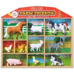 Melissa & Doug Farm Friends 10 Collectible Farm Animals