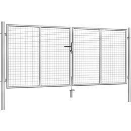 vidaXL Garden Gate 306x175cm