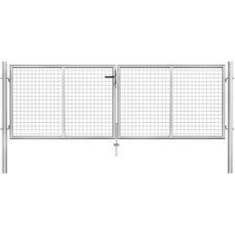 vidaXL Garden Gate 306x125cm