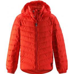 Reima Junior's Lightweight Down Jacket Falk - Orange (531341-2770)