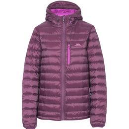 Trespass Arabel W Hooded Down Packaway Jacket - Potent Purple