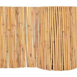 vidaXL Bamboo Fence 500x50cm