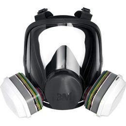 3M Reusable Full Face Mask Large 6900