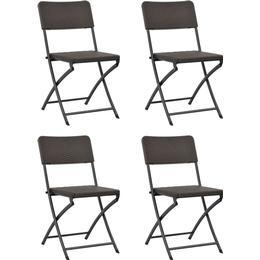 vidaXL 44552 4-pack Garden Dining Chair