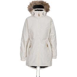 Trespass Celebrity Fleece Lined Parka Jacket - Fawn