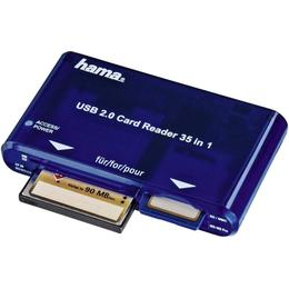 Hama USB 2.0 35-in-1 Card Reader (55348)