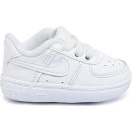 Nike Force 1 Crib - White
