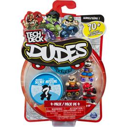 Spin Master Tech Deck Dudes 4 Pack