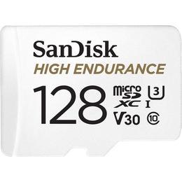 SanDisk High Endurance microSDXC Class 10 UHS-I U3 V30 128GB +Adapter