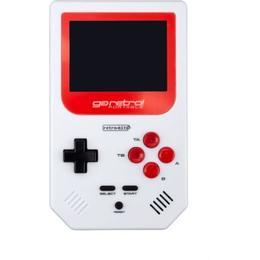 Retro-Bit Go Retro Portable - White/Red/Black