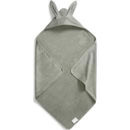 Elodie Details Hooded Towel Mineral Green Bunny