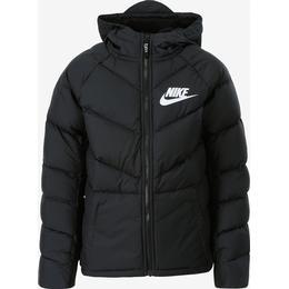 Nike Older Kid's Parka - Black/Black/Black/White (939557-010)