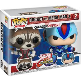 Funko Pop! Games Rocket vs Mega Man X Marvel vs Capcom