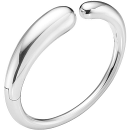 Georg Jensen Mercy Hinged Bracelet - Silver