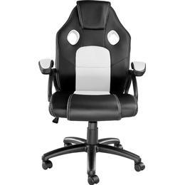 tectake Mike Gaming Chair - Black/White