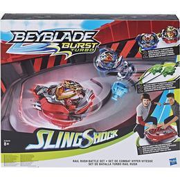 Hasbro Beyblade Burst Slingshock Rail Rush Battle Set E3629EU4