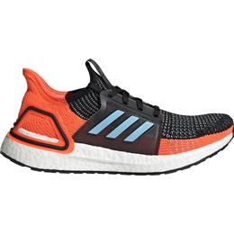 Adidas UltraBOOST 19 W - Core Black/Glow Blue/Hi-Res Coral