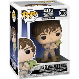 Funko Pop! Star Wars Luke Skywalker & Yoda
