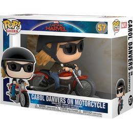 Funko Pop! Movies Carol Danvers on Motorcycle