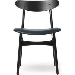 Carl Hansen CH30P 78cm Leather Kitchen Chair