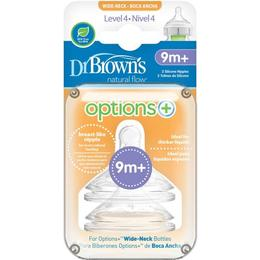 Dr. Brown's Options+ Teats Level 4 2-pack