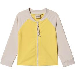 Kuling Boavista Zip UV Top - Banana Yellow
