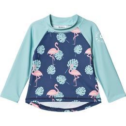 Geggamoja UV 50+ Longsleeved Sweather Flamingo - Blue (99920121)