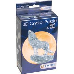 Hcm-Kinzel Crystal Puzzle Wolf Black 37 Pieces