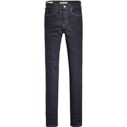 Levi's 724 High Rise Straight Jeans - To The Nine/Dark Indigo